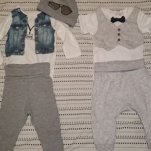 2 outfit sets